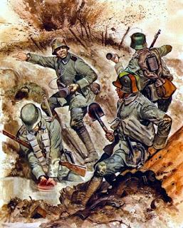 stosstruppe, grupos de asalto Ron Embleton - Osprey