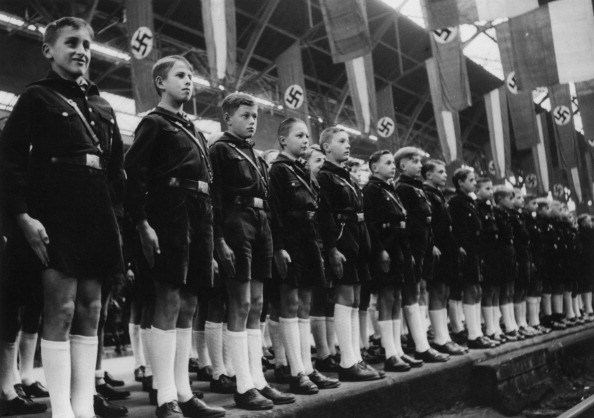 Members Of The Hitler Youth Deployed